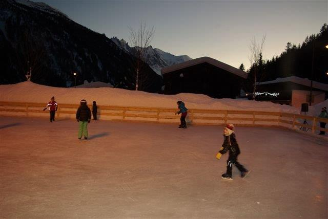 photo patinoire argentiere